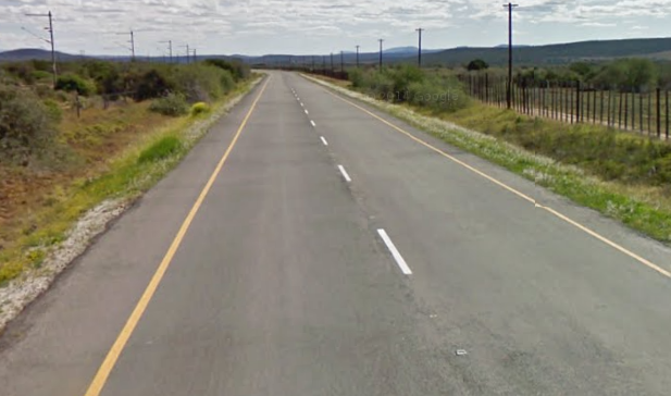 South African road in GeoGuessr