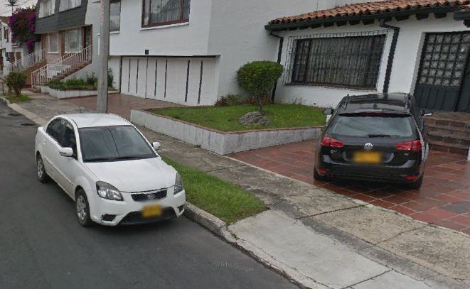 Colombian license plates in GeoGuessr